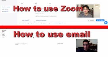 How To Use Email / How To Use Zoom
