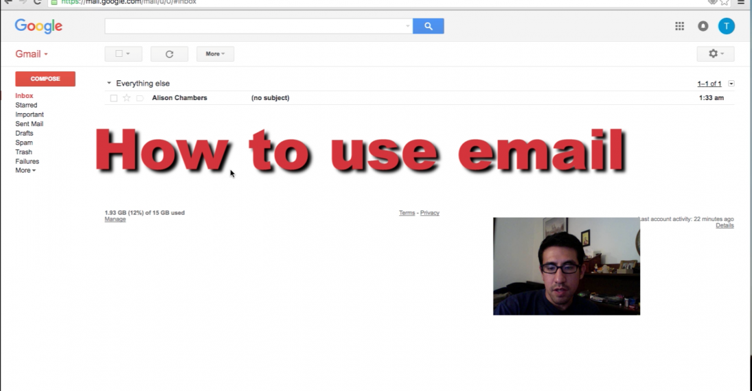 HOW TO USE EMAIL